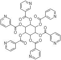 Inositol hexanicotinate Cardiovascular system drugs for Antilipemic CAS 6556-11-2