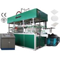 China Disposable Fast Food Container / Paper Thermoforming Plate Making Machine 7000Pcs / H wholesale
