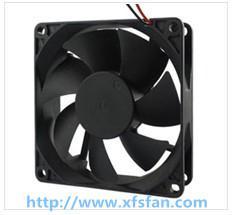China 80*80*20mm 12V/24V DC Black Plastic Brushless Cooling Fan DC8020 on sale