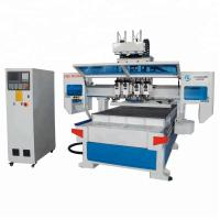 China Automatic 3d Wood Cnc Machine For Cutting Plywood 4*8ft Cnc Router 1325 wholesale