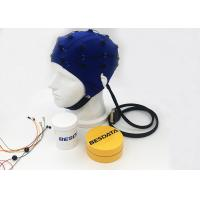China 32 Channel EEG Electrode Cap Compatible With CONTEC KT88-3200 Digital Mapping Device wholesale
