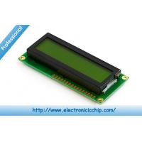 China STN 16x2 Black Green Character LCD Display 3.3V For Arduino , ST7066 controller wholesale
