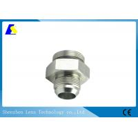 China Precision CNC Machined Stainless Steel Threaded Rod Couplers Pipe Fitting Hex Adaptor wholesale