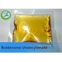 China CAS 13103-34-9 Boldenone Undecylenate Boldenone Steroids Yellow Powder wholesale