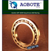 Quality Single Row Deep Groove Ball Bearing For Mining , SKF 16015 for sale