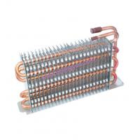 Universal Copper Tube, aluminium fin Refrigerator Condensers with stainless steel plate