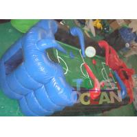 China Customized Blue / Red Inflatable Air Hockey Mini Inflatable Sports Arena Sport Games wholesale