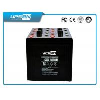 China Square 100AH AGM  Lead Acid Batteries For Solar Power System with two color wholesale