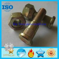 Buy cheap Auto bolt&nut,Auto Hub bolt&nut,Auto Wheel bolt&nut,Nonstandard Bolt&nut,OEM Auto part,Zinc plated hub bolt and nut 10.9 from wholesalers