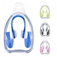 China Flexible Silicone Ear Plugs For Swimming , Nose Ear Protection For Swimming Adults wholesale
