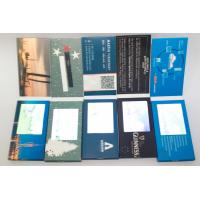 Buy cheap 8 GB memory CMYK printing digital video brochure for promotional activities from wholesalers