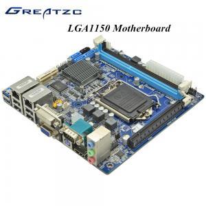 China 2 LAN VGA HDMI DVI PCIE 16X LGA 1150 Micro ATX Motherboard support SSD wholesale