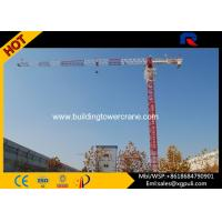 Quality 0.6r/Min Slewing Speed Topless Tower Crane For Constructions CE&ISO for sale