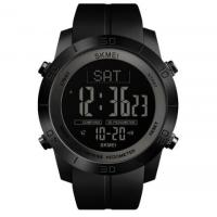 Buy cheap Skmei Fashion Casual Pedometer Sports Wristwatch 2 Time Compass 3ATM Waterproof from wholesalers