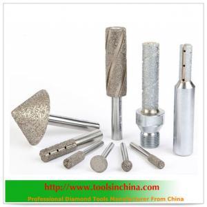 China Vacuum Brazed Diamond Tools on sale