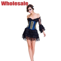 China Ergonomic Womens Bustier And Corset Plus Size Strapless Bustier Dress wholesale