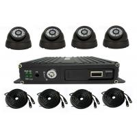 China 4 Channel School Bus Surveillance Vehicle Security Camera System 720P MDVR Kits on sale