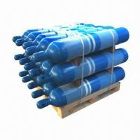 China 300bar/30MPa Oxygen Cylinders with High Pressure and 40L Capacity, Made of Seamless Steel Pipe wholesale