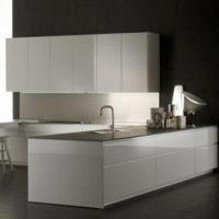 China Kitchen Cabinets with Melamine-faced Moisture-resistant Particleboard wholesale