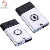China silver/gold color talk function wireless door bell on sale