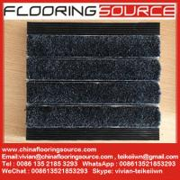 China Aluminum Entrance Carpeting aluminum frame with  infill carpet heavy duty floor mat wholesale