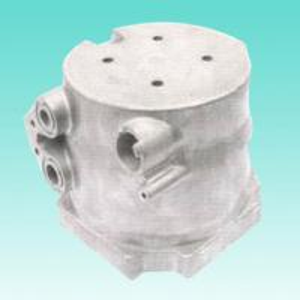 China OEM ADC12 Threading Aluminum Bracket High Pressure Automotive Die Casting Components wholesale
