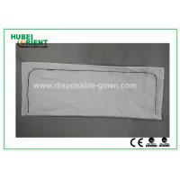 China White Polypropylene / PVC Dead Disposable Body Bags For Hospital , Light Weight on sale