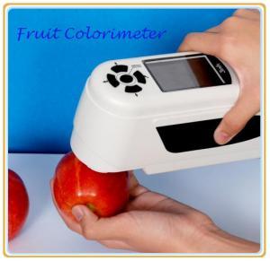 China Vegetable colorimeter color measuring instrument wholesale