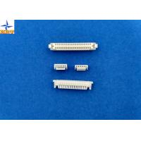 China Single Row Circuit Board Connection, White PCB Wire Connector GH connector  PA66 Materials wholesale
