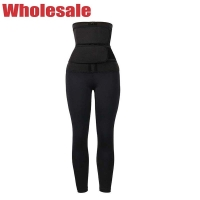 China 3XS High Waisted Gym Leggings Waist Leggings With Built In Waist Trainer wholesale