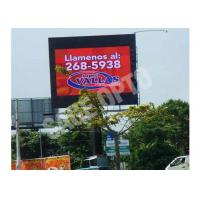 P10 mm Outdoor LED Display waterproof giant HD DIP346 160 x 160 mm Module Outdoor LED Displays For Advertising