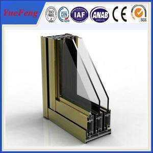 China best aluminum window frames price,price of aluminium sliding window making materials on sale