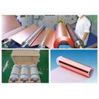 China 0.009mm High Ductility Hte Copper Foil , None Pinholes Copper Foil Tape wholesale