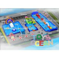 China Summer Play Fun Giant Inground Inflatable Water Park For Outdoor Amusement wholesale