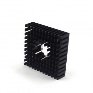 China 40*40*11mm Black Small MK7 MK8 3D Printer Heatsink Aluminum Alloy wholesale