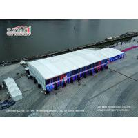 China Luxury sports Tents Aluminum PVC Marquee used for tennis court wholesale