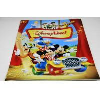 China Full Color Saddle Stitch Book Binding / Disney Magazine Printing Service wholesale