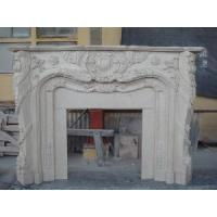 China Marble Carved Fireplaces Mantel (LY-084) wholesale