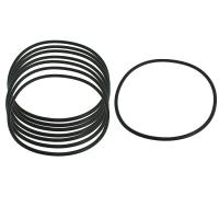 China High Performance Silicone Gasket Ring Hot Pressing Molding , Temperature -50℃-200℃ wholesale
