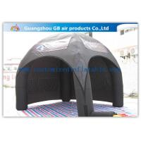 Buy cheap Black Inflatable Spider Dome Tent As Advertising Inflatable Air Tent For Sale from wholesalers
