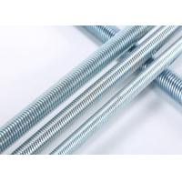 China Grade 4.8 / 6.8 / 8.8 Threaded Rods For Construction Building DIN Standard wholesale