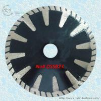 China Continuous Rim Deep Drop T-segmented Turbo Saw Blades - DSSB23 wholesale