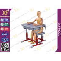 China High Adjustable Student Desk And Chair Set For Primary School E1 Grade Eco-friendly wholesale