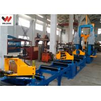 China Auto Combination Machine H Beam Welding Line With Assembly / Welding And Straightening wholesale