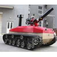 China Explosion Proof Fire Fighting Robot 1.76kw Motor * 2 High Temperature Resistance wholesale
