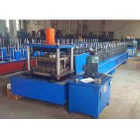 China Metal Rack Roll Forming Machine , Automatic Width Adjust Shelf Panel Roll Former wholesale