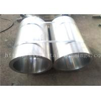 Quality Forged Pipe metal sleeves S235JRG2 1.0038 EN10250-2:1999 for Steam Turbine for sale