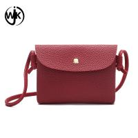 China Fashion oem mini shoulder bag cross body simple design pu leather women sling bag wholesale