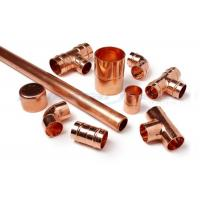 China 3 Way Cross Coupling Straight Tap Connector , 1/4 Inch Copper End Feed Fittings wholesale