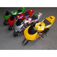 Quality 49cc,Pocket Bike,single cylinder,2-stroke. pull sttart. gas:oil=25:1.with good quality for sale